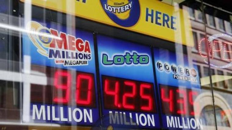 美彩票开出4.48亿美元大奖 加州幸运儿独得