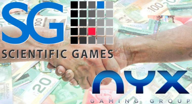 41.6亿!科学游戏收购加拿大博彩公司NYX