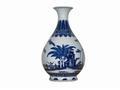 清代陶瓷制品青花玉壶春瓶的赏析