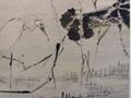 翁仁指画《荷塘水鸟图》:匠心独具