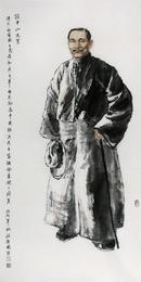 孙中山先生137cmx70cm  2006年