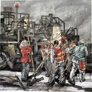 不夜城50cmx150cm 2014年  (入选第十二届全国美展)