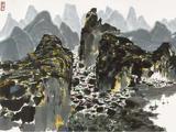 吴冠中(1919-2010)  桂林