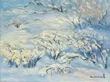 方君璧(1898-1986)  雪景