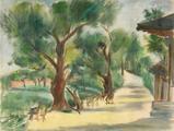 唐蕴玉(1906-1992)  风景