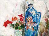 沙耆(1914-2005)  暖瓶