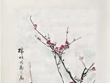 王雪涛(1903-1982)  红梅傲雪