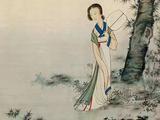 陈少梅(1909-1954)  桐阴静伫