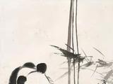 刘继卣(1918-1983)  母子嬉戏