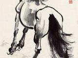 16#徐悲鸿(1895-1953) 立马