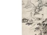 华喦(1682-1756) 高士图