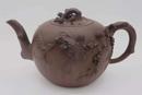 特大年夜松鼠葡萄壶 紫砂 高150宽240 清康熙 陈鸣远制,该壶是其特地为汪文伯定制