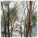 琉璃彩 《宝石码头》60x60cm2018年