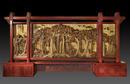 《立根搏云》在第五届中国木雕竹编博览会荣获金奖