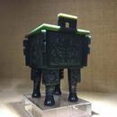 饕餮纹方鼎1 新疆和田籽料 90x80x130mm 520克 2003年 68万