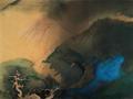 1984年张大千作品《溪桥晚色》亮相华艺国际