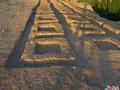 敦煌西千佛洞现方形建筑遗迹