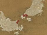 明清后鸡题材绘画技法成熟