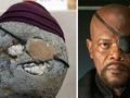 日本博物馆展出700块奇石酷似名人脸 部分是化石