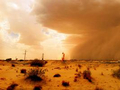 宋志峰摄影之荒漠戈壁滩上石油井场风景