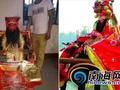 海口一村庙上百年花梨公祖椅被盗 村民重酬征线索