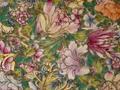 清代粉彩百花不落地瓷板在上海引围观