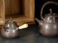 西泠网拍首推日本文化专题 手工纯银汤沸工艺精良