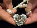 世界最大92克拉心形钻石拍卖逾1亿元