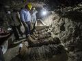 埃及考古学家首次在开罗以南发现十七具木乃伊