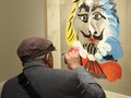 毕加索石版画作品首次在台展出