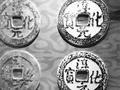 一口大缸装着千年铜钱 五铢钱使用长达700多年