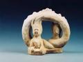 绘彩人首蛇身交尾俑的艺术形象从何而来