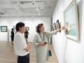 中国油画院研修班9人绘画作品展亮相爱慕美术馆