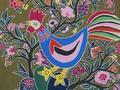 《新浪书画》跨越40年历史的168幅金山农民画