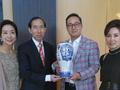 中韩国际电影节获赠景泰蓝《九羊启泰》