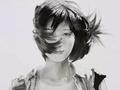 一位思考型艺术家:杜建奇的素描作品欣赏