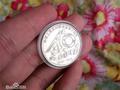 最贵纪念币现身 1元面值钱币值一辆车