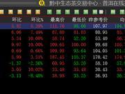 黔中普洱:挂牌藏品持续上涨