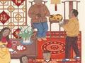 苏州画家绘制 我国首套元宵节邮票