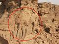 沙特阿拉伯沙漠中现骆驼雕塑 已存在2000年