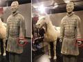 兵马俑的手指与博物馆的安全