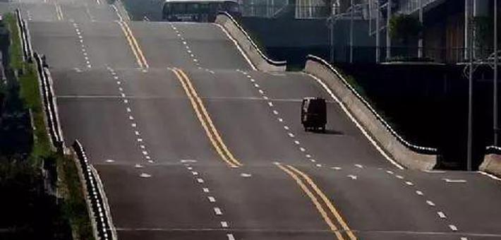 重庆网红波浪公路为啥这么修?