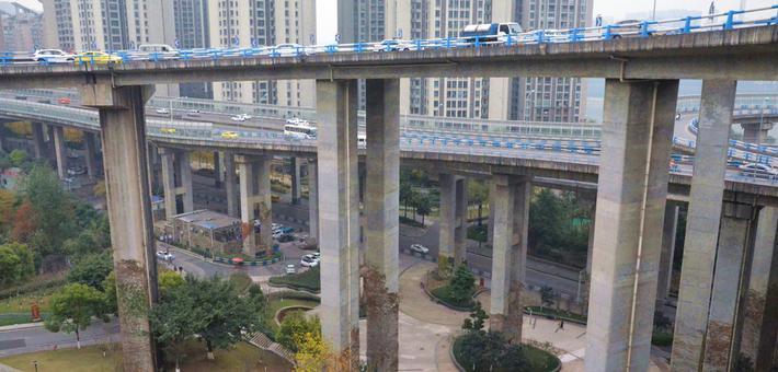 32米!国内最高桥梁公园亮相重庆