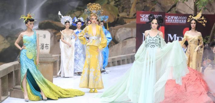 毛戈平亮相重庆国际时尚周