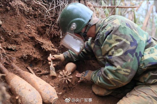 中越边境云南段最复杂雷场成功排除移交土地6万余平方米