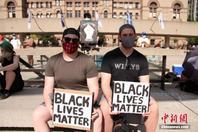 加拿大多倫多示威者再度集會反對系統性歧視