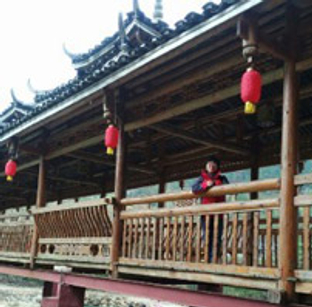 春节游雨卜苗寨