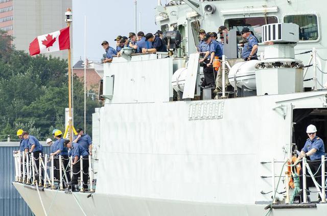 加拿大派军舰赴北极宣示主权