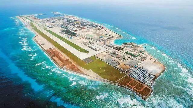 永暑礁人工岛机场设施完备