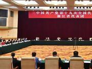 浙江代表团认真讨论十九大报告